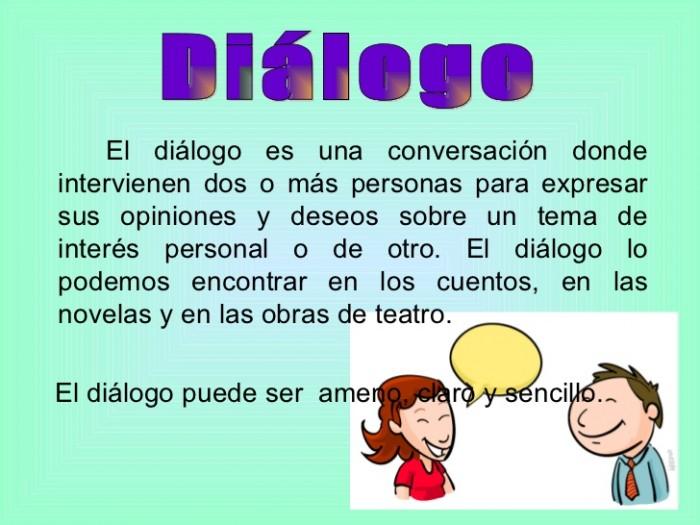 dialogo elementos: