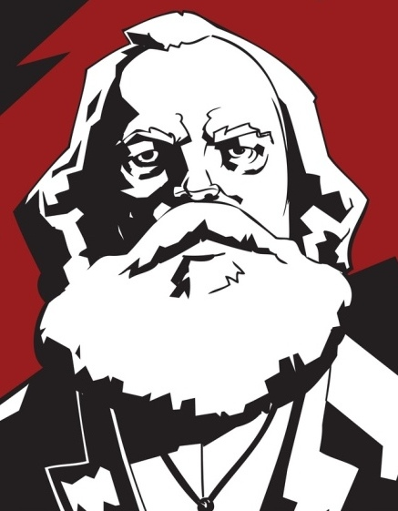 Marx ✆ I. J. Bowden © Ñángara Marx