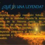 Cuadros sinópticos sobre la leyenda y sus características