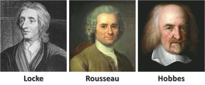 John locke and jean jacques rousseau how