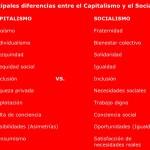 Cuadros comparativos entre Capitalismo y Socialismo