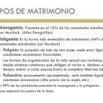 Cuadros comparativos entre Monogamia y Poligamia