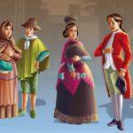 Cuadros sinópticos y comparativos de escala social en la época colonial: Pirámide social colonial