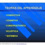 Diferencias entre las diferentes teorías de aprendizaje: Cuadros comparativos