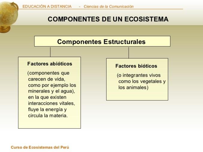 cuadros comparativos sobre bioticos y abioticos  Cuadro Comparativo