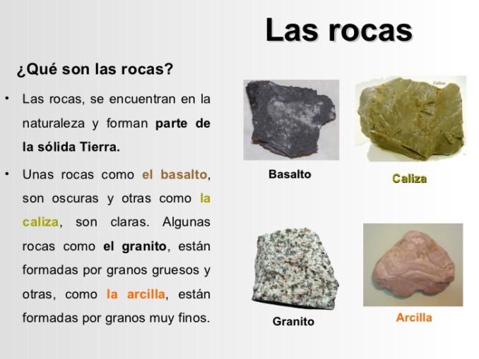 Cuadros sin pticos sobre las rocas su clasificaci n y caracter sticas cuadro comparativo - Propiedades del granito ...
