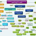 Cuadros sinópticos sobre el desarrollo psicológico e intelectual de 6 a 12 años