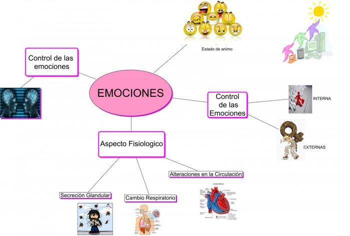 Mapa De Las Emociones.Mapas Mentales Y Cuadros Sinopticos Sobre Emociones