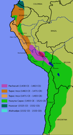 Inca-expansion