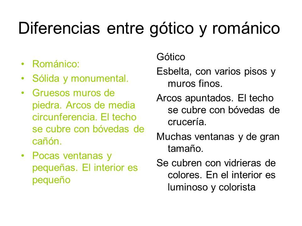 Cuadros Comparativos Entre Arte Románico Y Gótico Encuentra Todas Sus Diferencias Cuadro Comparativo