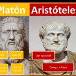 Cuadros comparativos entre Aristóteles y Platón: Cuadros sinópticos e imágenes