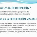 Cuadros sinópticos y mapa conceptuales sobre la percepción