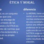 Cuadro comparativo entre Ética y Moral