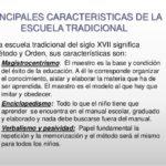 Cuadros comparativos sobre Escuela Tradicional Vs Escuela Nueva