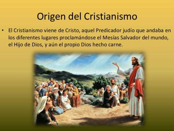 Cuadros comparativos entre cristianismo, catolicismo