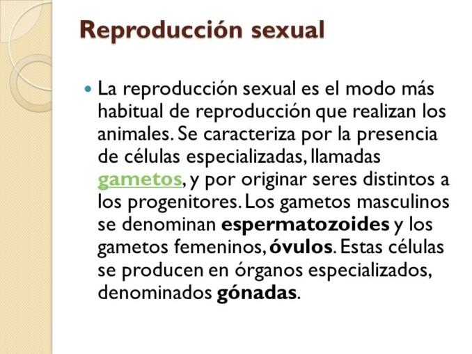 Reproduccion sexual asexual diferencias
